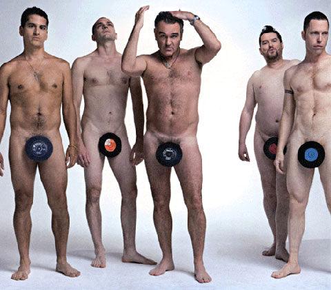 morrissey and band naked